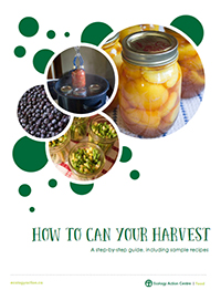 How to can your harvest