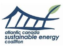 Atlantic Canada Sustainable Energy Coalition and the Ecology Action Centre are